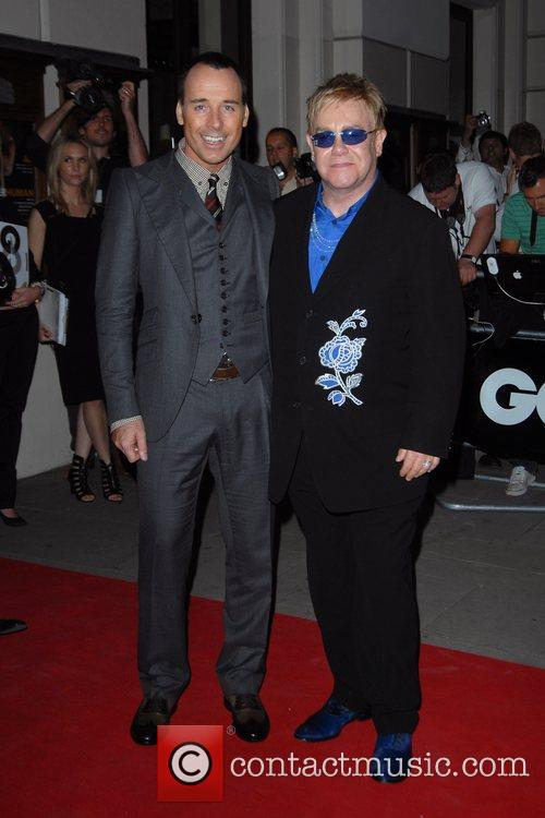 David Furnish and Elton John 1