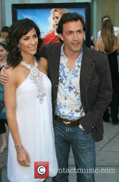 Andrew Shue and wife Jennifer Hageney 'Gracie' premiere...