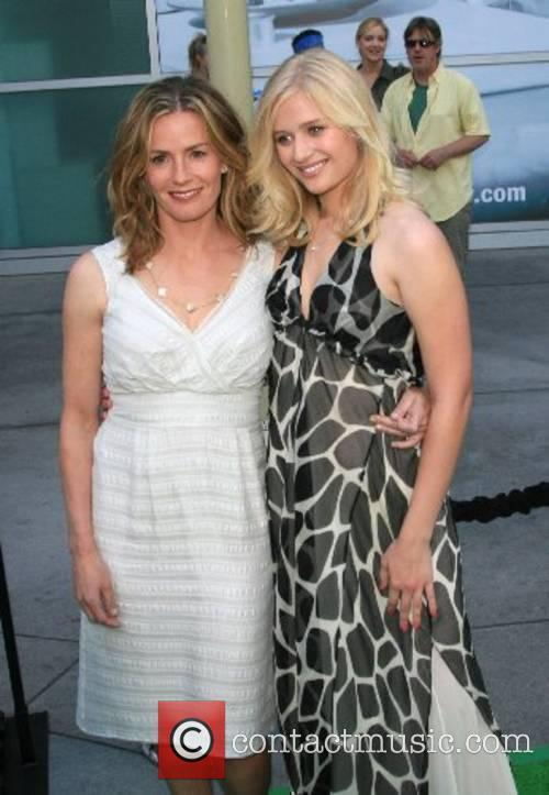 Elisabeth Shue and Carly Shroeder 'Gracie' premiere at...