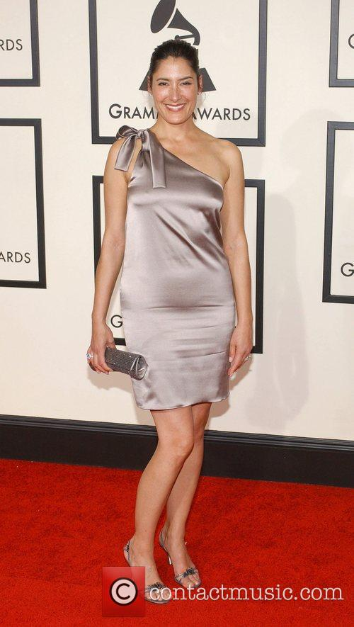 Alicia Coppola The 50th Annual Grammy Awards held...