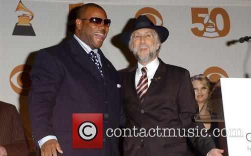 Jimmy Jam and Recording Academy President/CEO Neil Portnow...