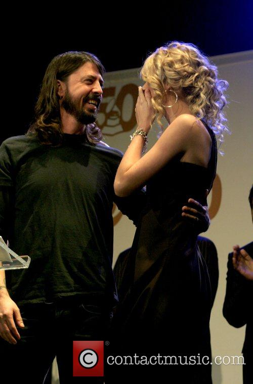 Dave Grohl of Foo Fighters and Taylor Swift...
