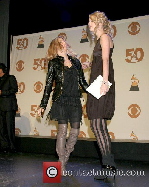 Fergie and Taylor Swift 2008 Grammy Nominations Announcements...