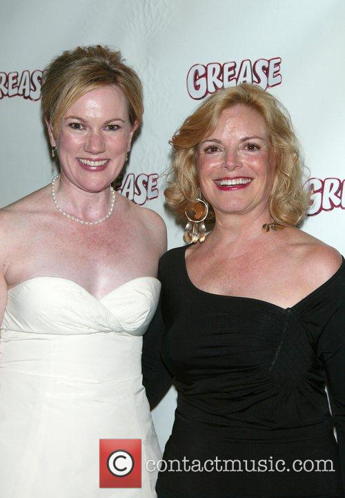 Director, Choreographer Kathleen Marshall and Carole Demas (original Stage Sandy) 1