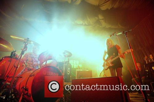 The 'Ting Tings' perform live on stage 2008...