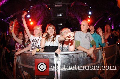 Crowd at the Brighton Coalition 2008 Great Escape...