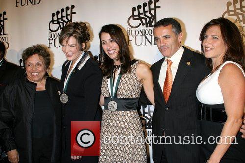 Donna Shalala, Lesley Visser, Janet Evans and Pasqal...