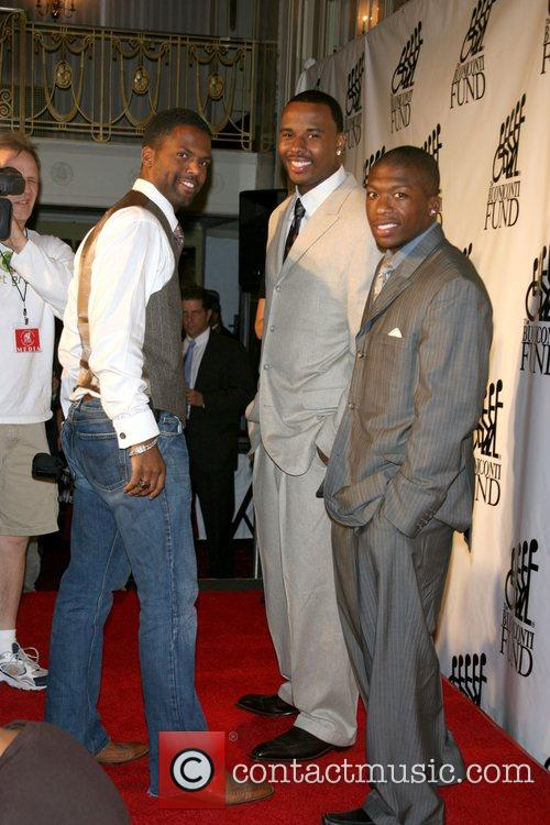 Aj Calloway, Quentin Richardson and Nate Robinson 2