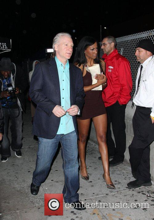 Bill Maher leaves the Green Door after watching...
