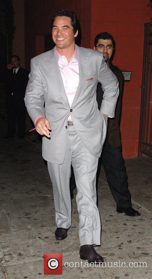 Dean Cain Leaving the Green Door nightclub. Hollywood,...