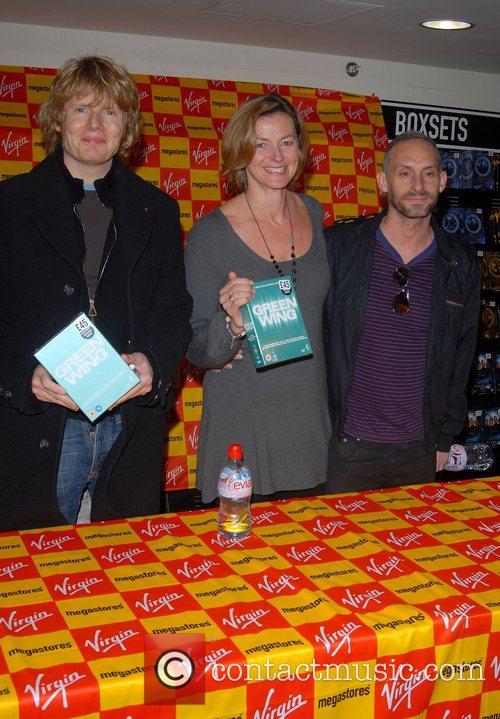Julian Rhind-tutt, Pippa Haywood and Virgin 4
