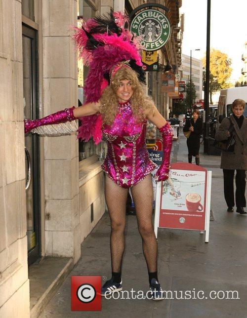 Dj Greg James and Kylie Minogue 2