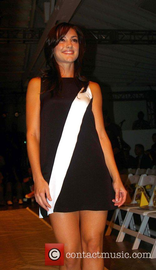 Leighton Meester Mercedes-Benz Fashion Week 2008 at Smashbox...