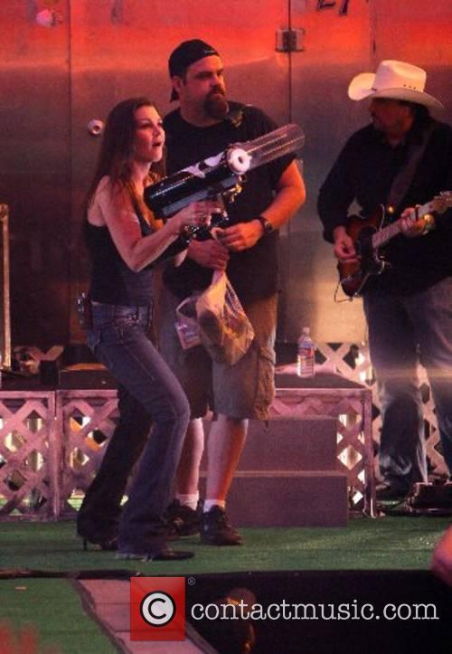 Kicks off her world tour in Las Vegas...