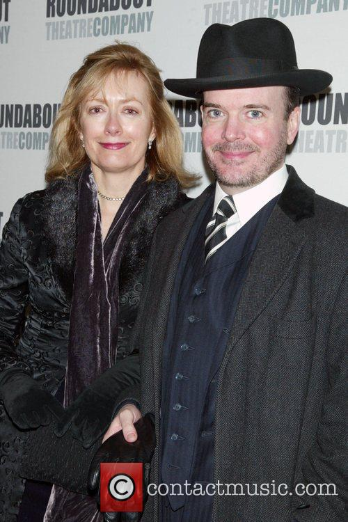 Jefferson Mays & his wife Kari McGee attending...
