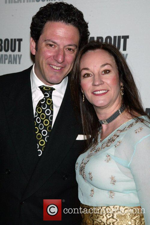 John Pizzarelli & his wife Jessica Molasky attending...