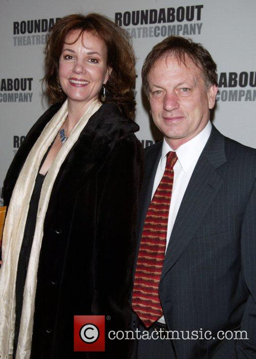 Margaret Colin and her husband Justin Deas (soap...