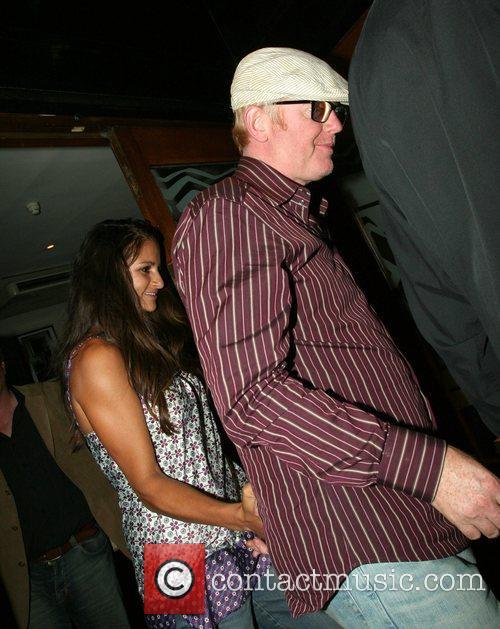 Chris Evans and His Wife Natasha Shishmanian 3