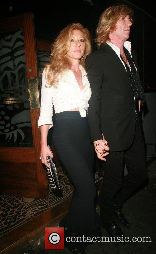 Kelly Hoppen and Nicky Clarke at the Groucho...