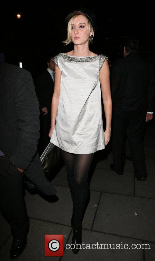 Kimberly Stewart,  leaving the Groucho Club London,...