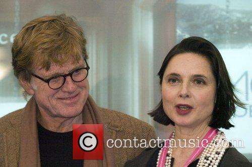 Robert Redford and Isabella Rossellini at the MoFilms...
