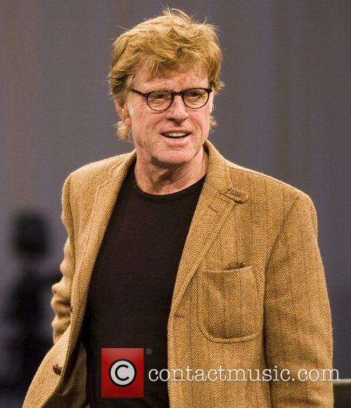 Robert Redford at the World Mobile Congress, held...