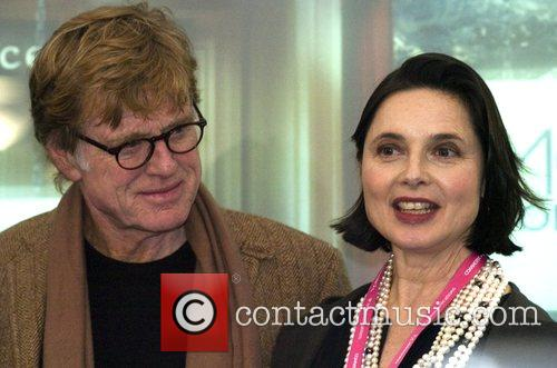 Robert Redford and Isabella Rossellini 11