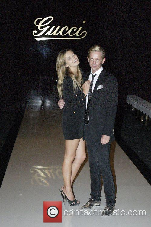 Cheyenne Tozzi and Toby Osmond Gucci Spring/Summer 2008...