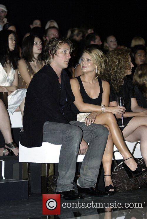Natalie Bassingthwaighte and Cameron McGlinchey Gucci Spring/Summer 2008...