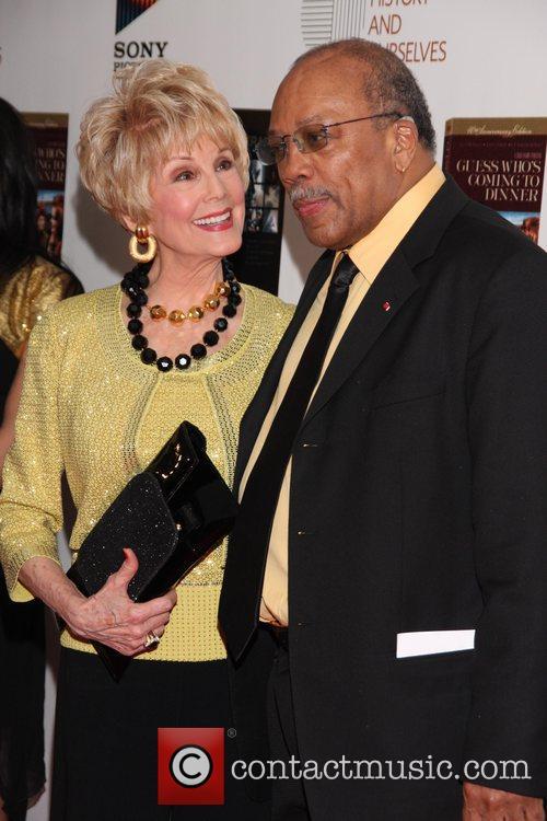 Karen Kramer and Quincy Jones 40th Anniversary Celebration...