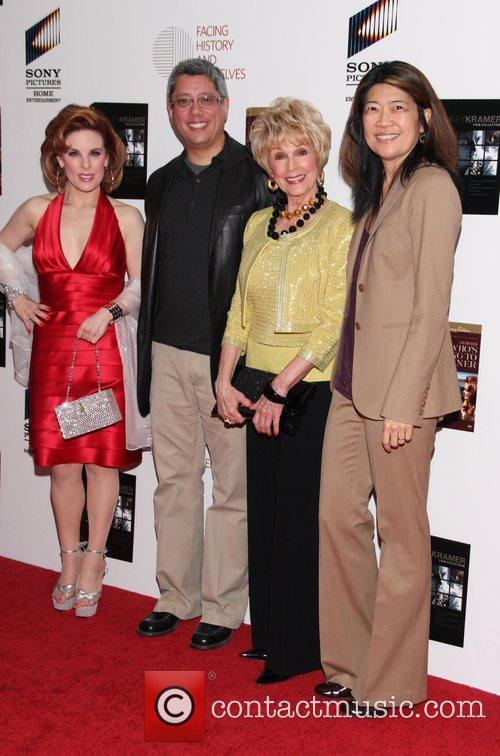 Kat Kramer, Dean Devlin, Karen Kramer and Lexine...