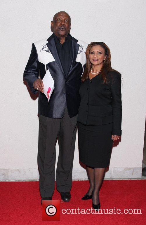 Louis Gossett Jr. and Mona Ibrahim 40th Anniversary...