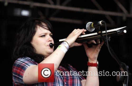 Performing live at Guilfest 2007