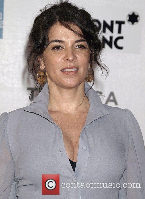 Annabella Sciorra attends the Premiere of 'Gunnin For...