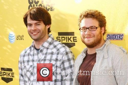 Bill Hader and Seth Rogen First Annual Spike...