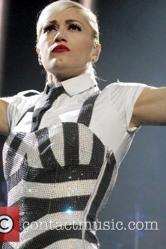 Gwen Stefani  performing live in concert on...