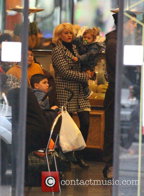 Gwen Stefani stops off at a North African...