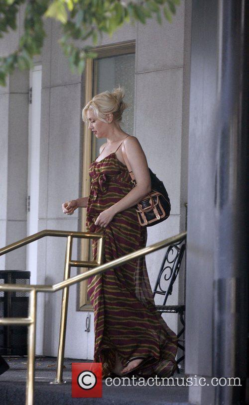 Gwen Stefani leaving Saks Fifth Avenue Los Angeles,...