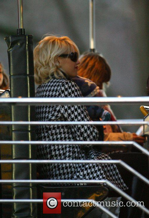 Gwen Stefani enjoys a day out with her...