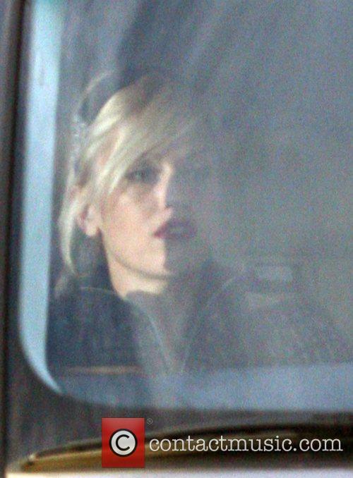 Gwen Stefani leaving Beverly Hills Hotel