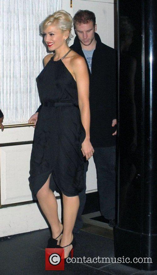Gwen Stefani leaving her Manhattan hotel