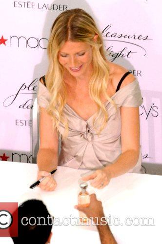 Gwyneth Paltrow promoting her new perfume ' Pleasure...
