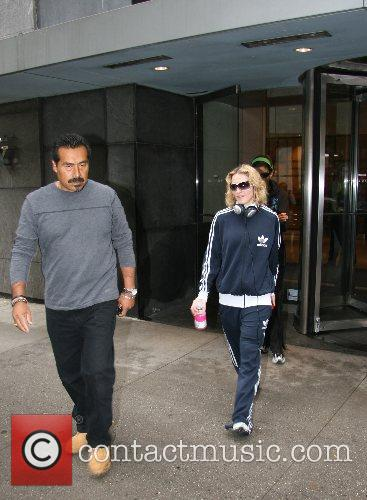 Madonna  leaving a Midtown gym New York...