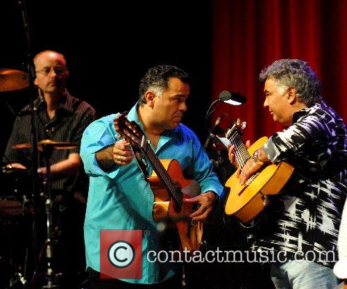The Gipsy Kings performing live at the Tower...