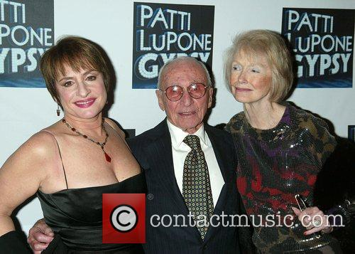 Patti Lupone, Director Arthur Laurents and Margaret Styne 1