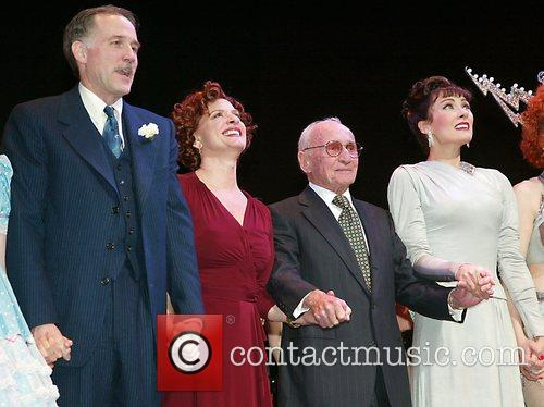 During the opening night curtain call for the...