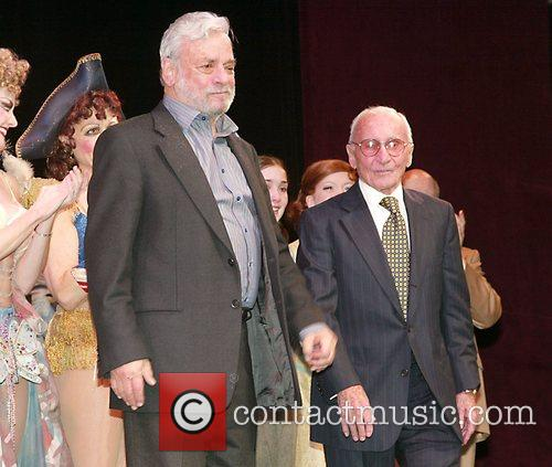 Stephen Sondheim and Arthur Laurents 1
