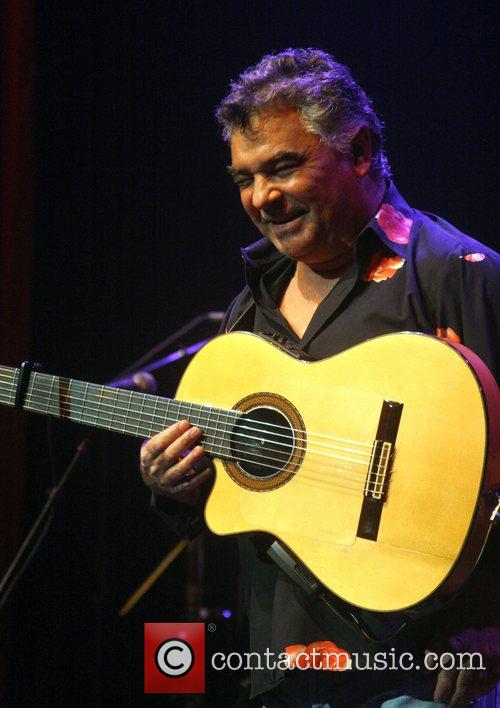 Gipsy Kings performing live at the Pearl Theatre...
