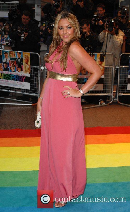 Michelle Heaton UK Premiere of 'Hairspray' held at...