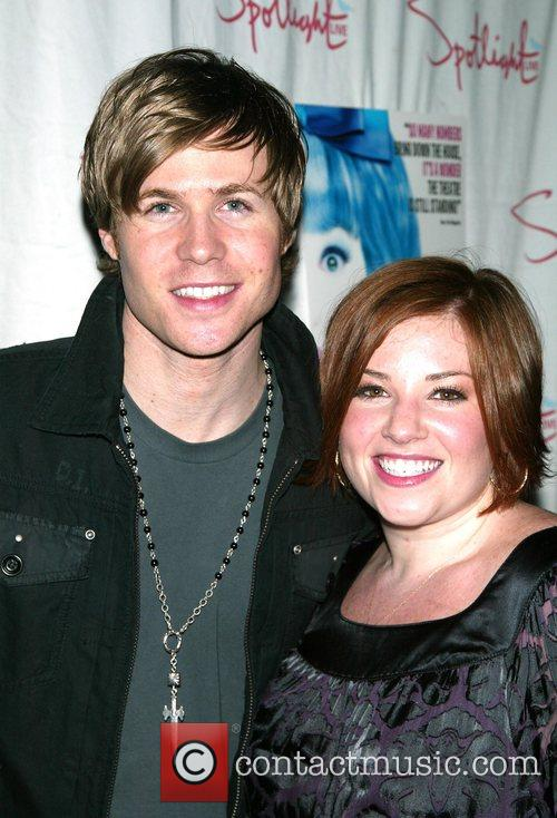 Ashley Parker Angel and Shannon Durig  attending...